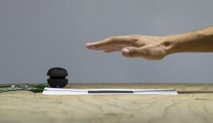 Das Touch Board kann als Distanz-Sensor benutzt werden