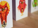 Bauanleitung: Flashing Card Set - Power Animals