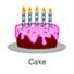 """Die Figur """"Cake"""" von Scratch"""