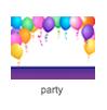 """Das Bühnenbild """"party"""" von Scratch"""