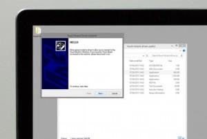 Die Installationsanweisung von Touch Board-Treiber installieren - 1