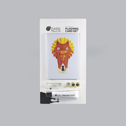 Das Flashing Card Set von Bare Conductive