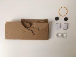 VR Brillen Set Materialien