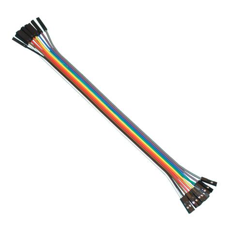 12 Jumper Kabel F/F