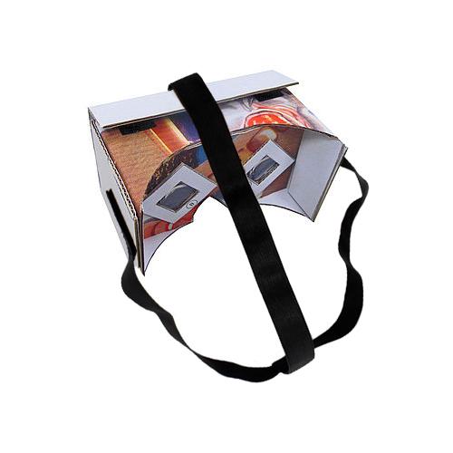VR Linsen Set mit Klett-Kopfband