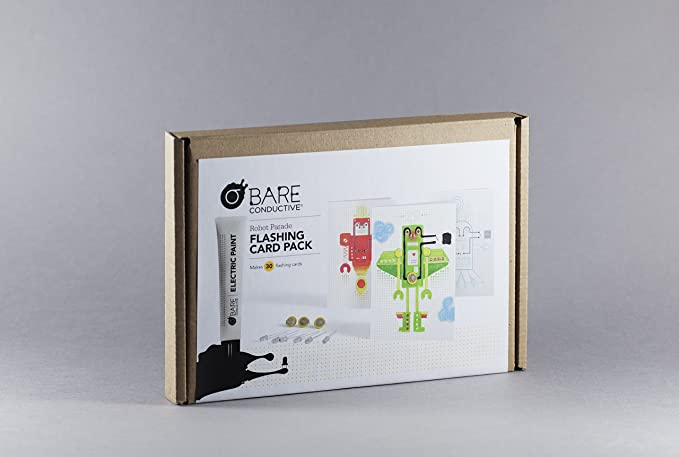 Flashing Card Pack - Robot Parade