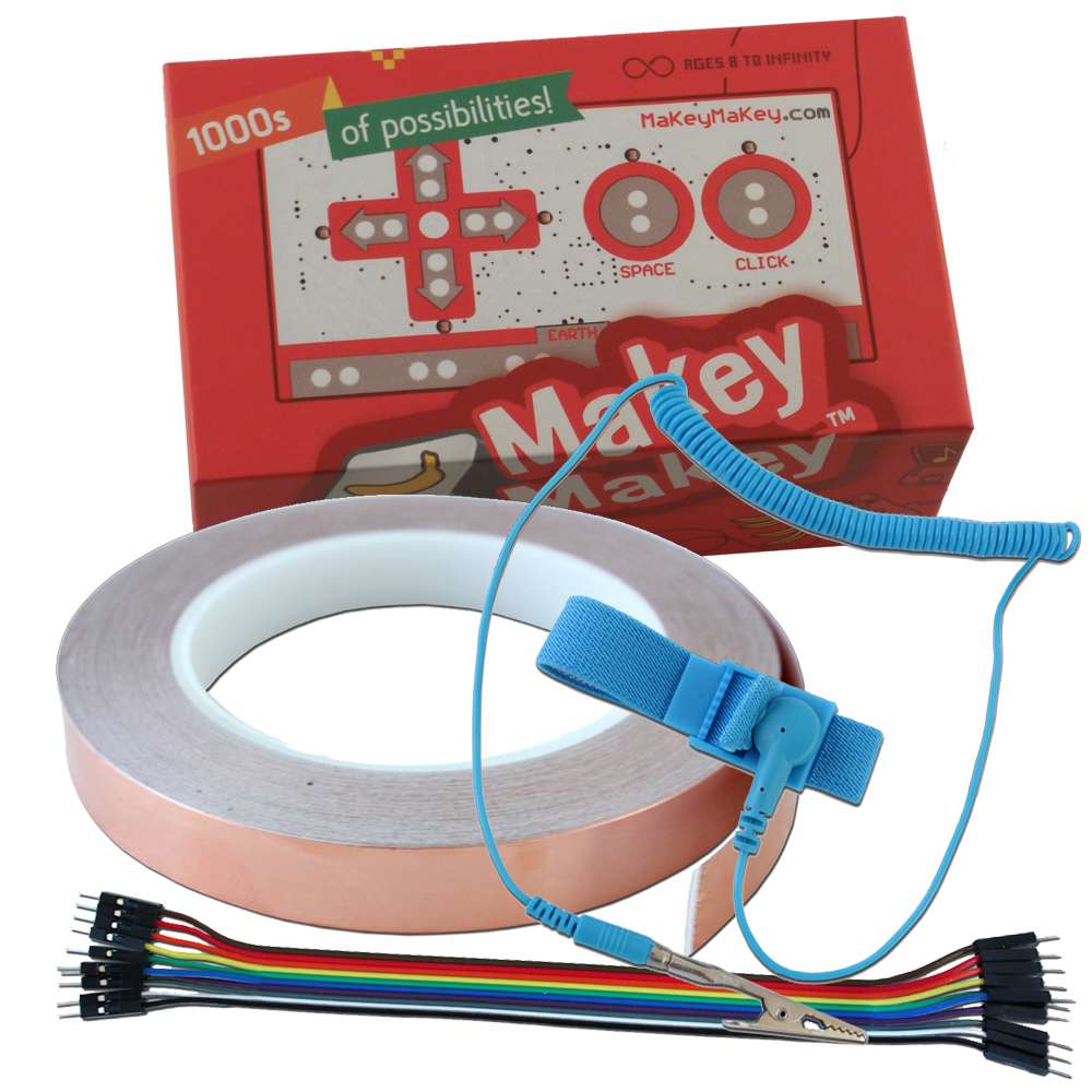 MaKey MaKey Kit mit Fortgeschrittenen-Bundle